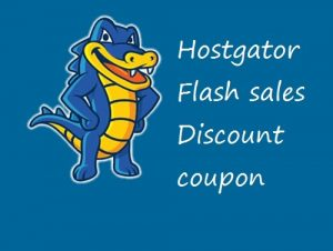 Hostgator flash sales